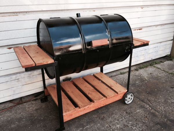 55 Gallon Barrel Bbq Grill Custom Made By Tytanic Grills For In Detroit Mi Offerup