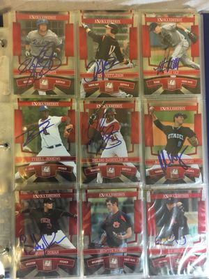 Lot of 78 Autographed Baseball Cards Inc. BIG NAME PLAYERS for Sale in Falls Church, VA