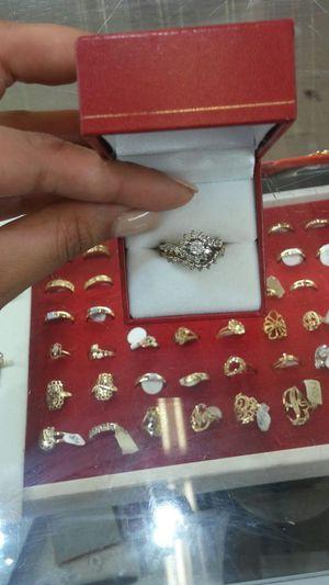 Diamond Cut Wedding Ring & Band for Sale in Orlando, FL