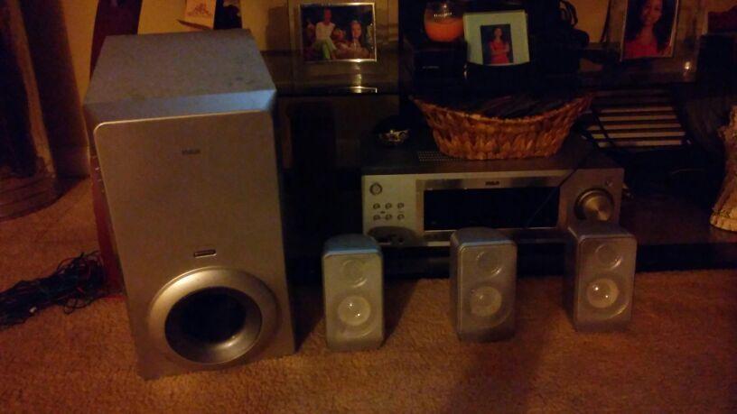 RCA Surround Sound Theater System