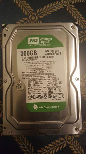 hard drive 500gb wd 3.5 for Sale in Richmond, VA