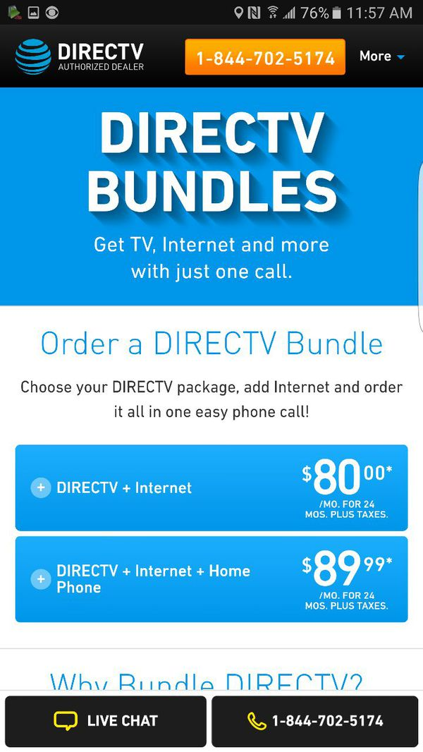 Direct Tv Cable And Internet >> Cable Tv Internet Directv Satellite For Sale In Grand Prairie Tx Offerup