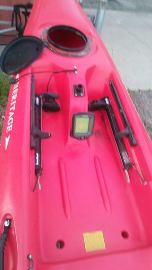 Kayak with fishing setup for Sale in New York, NY