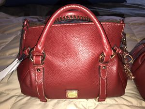 NWT Dooney and Bourke Cranberry Satchel Samba for Sale in Bremerton, WA