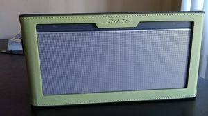 Bose Sound link 3 Bluetooth Speaker with Original Bose Cover - Brand New Condition for Sale in Los Angeles, CA