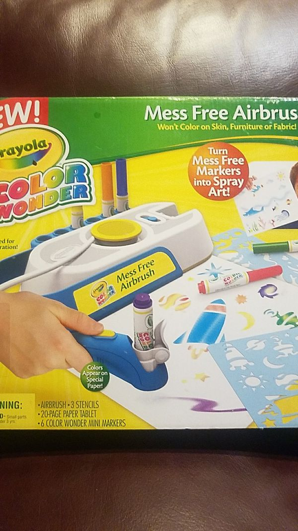 crayola color wonder mess free airbrush for sale in antioch ca