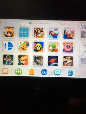 WiiU Fully Loaded Black 32GB Console+ 1TB Ext HDD for Sale in Puyallup, WA