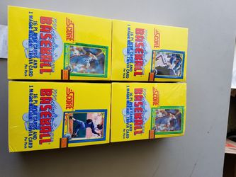 Factory sealed baseball cards 1987-1993 cases $10 -$20 per case special today only Thumbnail