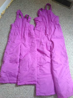 Girls snow overall size 4/5 &7/8 for Sale in Rolla, MO