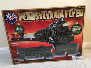 Lionel Pennsylvania Flyer Train Set - G Gauge with Remote Control (New in Box) for Sale in Ashburn, VA