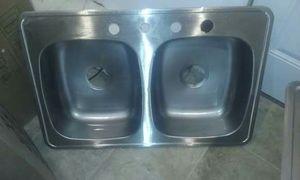 Sink doble used for Sale in Detroit, MI