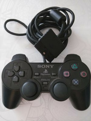 Sony PlayStation Controller Compatible w/both PS1 & PS2,Dual Shock 2. I have more Old Controllers See PG Ill Bundle deal if u want another for Sale in Puyallup, WA
