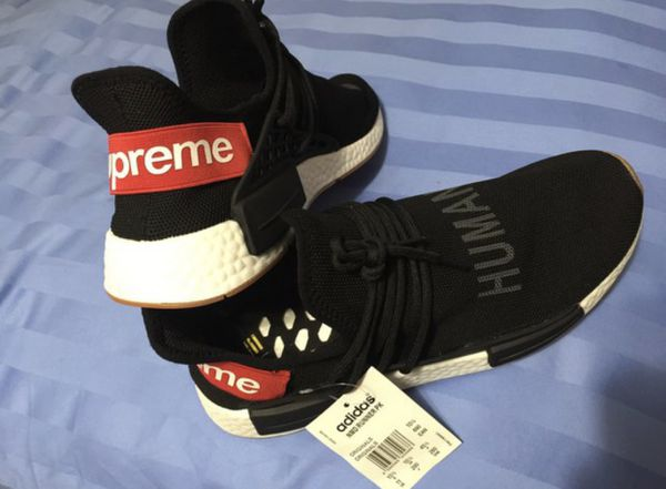 online store 62f24 270c4 Adidas NMD Human Race X Supreme Custom Shoes for Sale in Atlanta, GA -  OfferUp