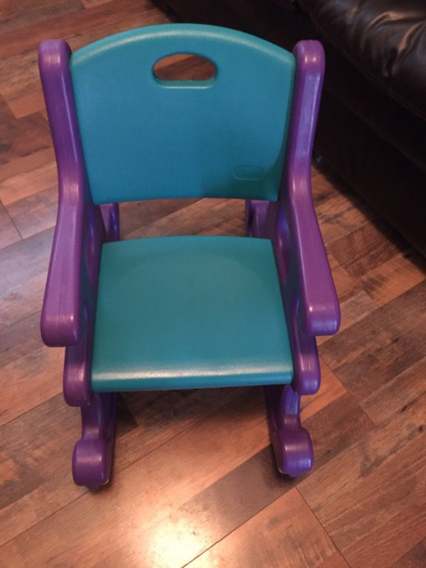 Pleasing Vintage Little Tikes Rocking Chair Excellent Condition For Beatyapartments Chair Design Images Beatyapartmentscom