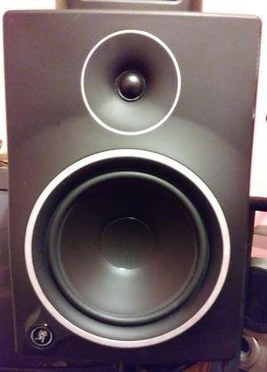 2 Mackie Mr 8s 8 inch studio monitors for Sale in Green Cove Springs, FL