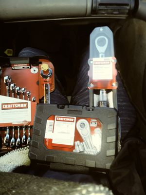 Craftsman socket and wrench set with micro torque wrench for Sale in Dallas, TX