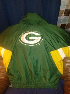 NFL Greenway Packers Starter Jacket, used for sale  Haskell, OK