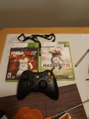 360 games and controller for Sale in Auburn, WA