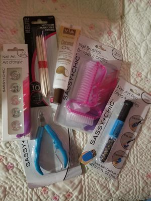 Used, Nail Art Set all for $5 for sale  Tulsa, OK