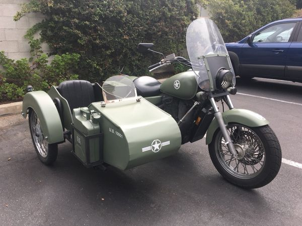 Honda Shadow 1100 With Sidecar for Sale in Carlsbad, CA - OfferUp