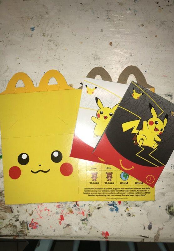 Photo McDonalds Pokmon cards 2021