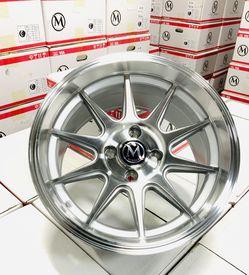 "15"" Rims 4x100 +20 15x8 All 4 Wheels New $350 Thumbnail"