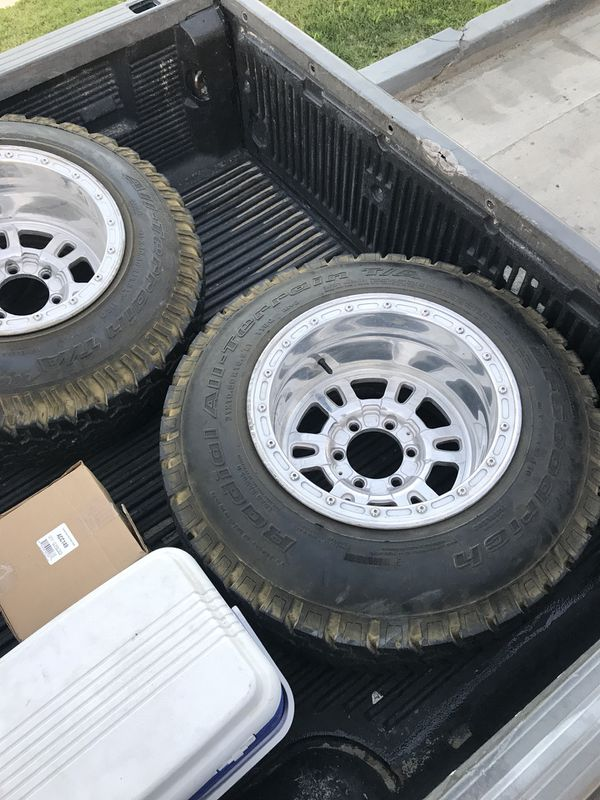 16 5x12 Weld Racing Wheels Mountain Crushers