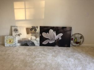 Wall paintings all 4 for $50 or you can buy individually for Sale in Ashburn, VA