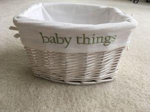 Baby Things Basket for Sale in Lovettsville, VA