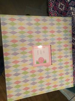 12 x 12 scrapbook of doll patterns Thumbnail