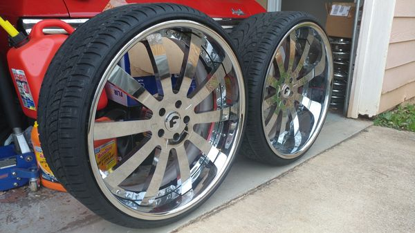 Audi For Sale In Ga >> SET OF 24 INCH STAGGERED FORGIATO CONCAVO WHEELS AND TIRES ...