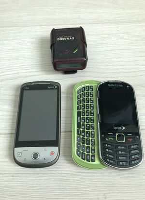2 Cell Phones & Beeper Combo for Sale in Miami, FL