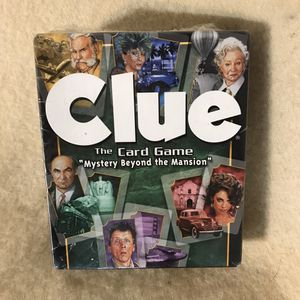 Photo Clue the Card Game Mystery Beyond the Mansion