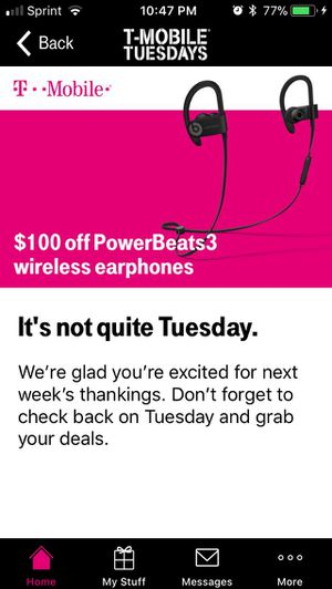 $100 off of Powerbeats3 Coupon for Sale in Columbia, MD