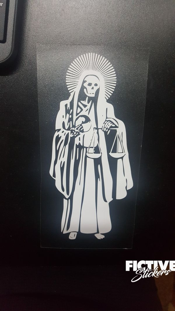 Santa Muerte 8 Decal Calcomania For Sale In Inglewood Ca Offerup