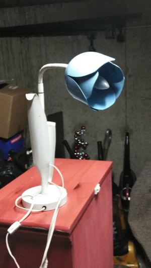 Metal flower lamp for Sale in Chelsea, MA