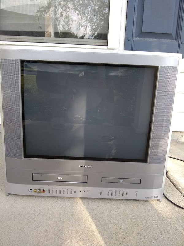 Nice old TOSHIBA TV style, DVD and VHS for Sale in Apex, NC - OfferUp