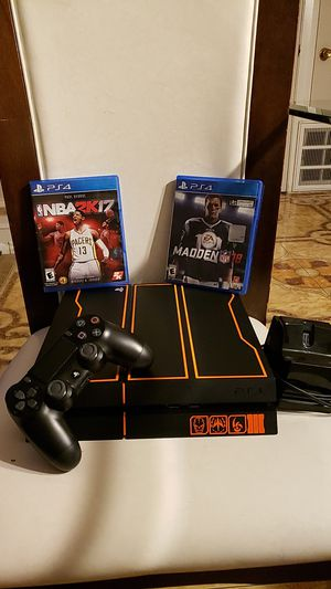 Photo Ps4 call of duty black ops edition