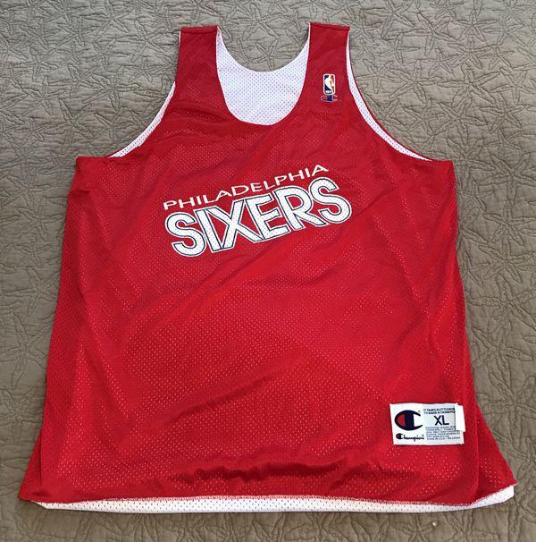 Vintage Philadelphia 76ers Sixers Champion Practice Jersey Sz XL for Sale  in Laverock, PA - OfferUp