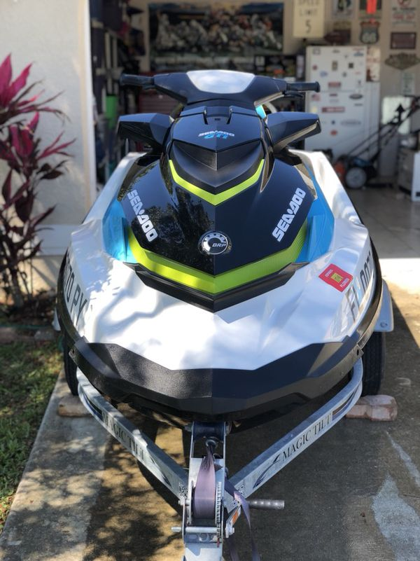 Great condition 2015 Seadoo 130 GTI, garage kept and low hours  for Sale in  Cape Coral, FL - OfferUp
