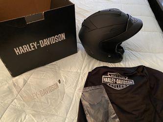 Women's Harley Davidson helmet Thumbnail