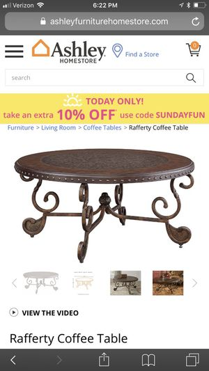 New And Used Coffee Tables For Sale In Modesto CA OfferUp - Ashley rafferty coffee table