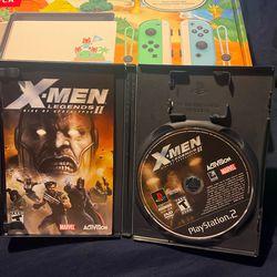 PS2 X-Men Legends II Rise Of Apocalypse  Thumbnail