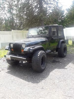 jeep wangler 1992 miles 125000 for Sale in Silver Spring, MD