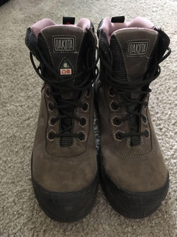 804de555157 Women's Steel Toe Boots - Size 8 for Sale in Pasadena, CA - OfferUp