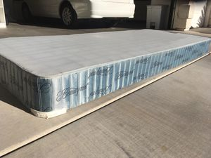 Blue Twin XL Size Bed Frame(South Las Vegas) for Sale in Las Vegas, NV