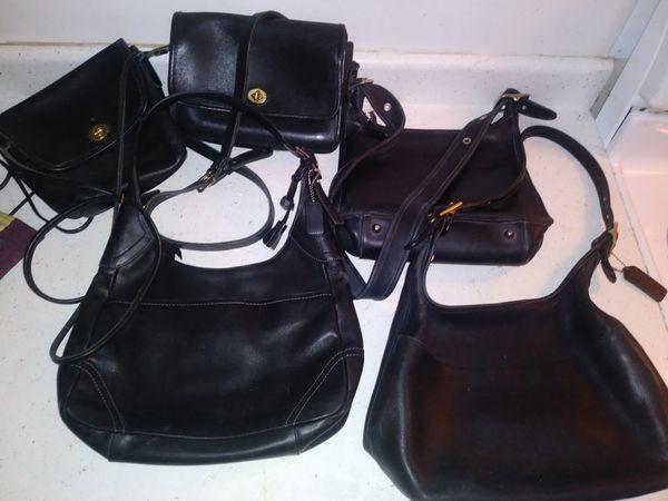 042e3ee51f3 5 Vintage Authentic Coach Leather Purses for Sale in Arlington ...
