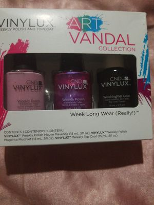 CND- VINYLUX WEEKLY POLISH for Sale in Los Angeles, CA