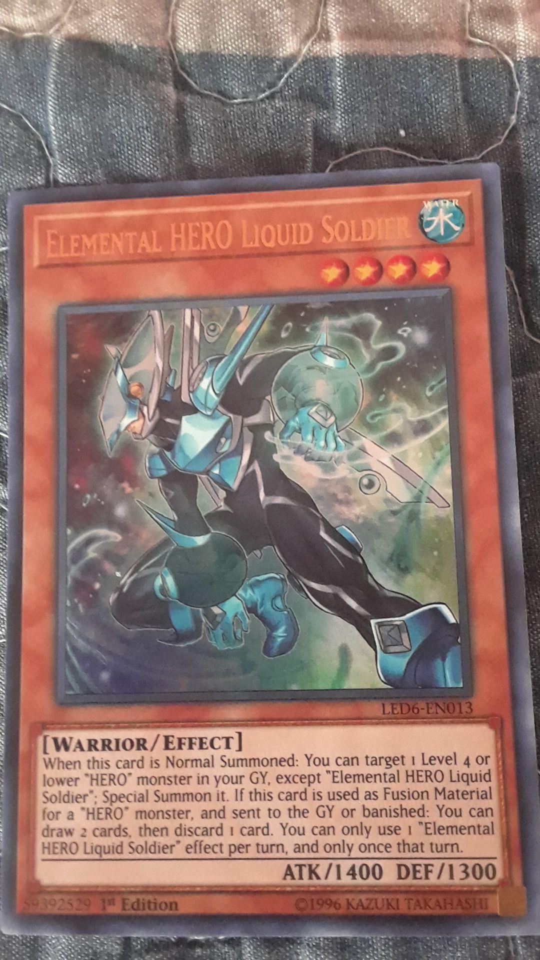 Elemental Hero Liquid Soldier