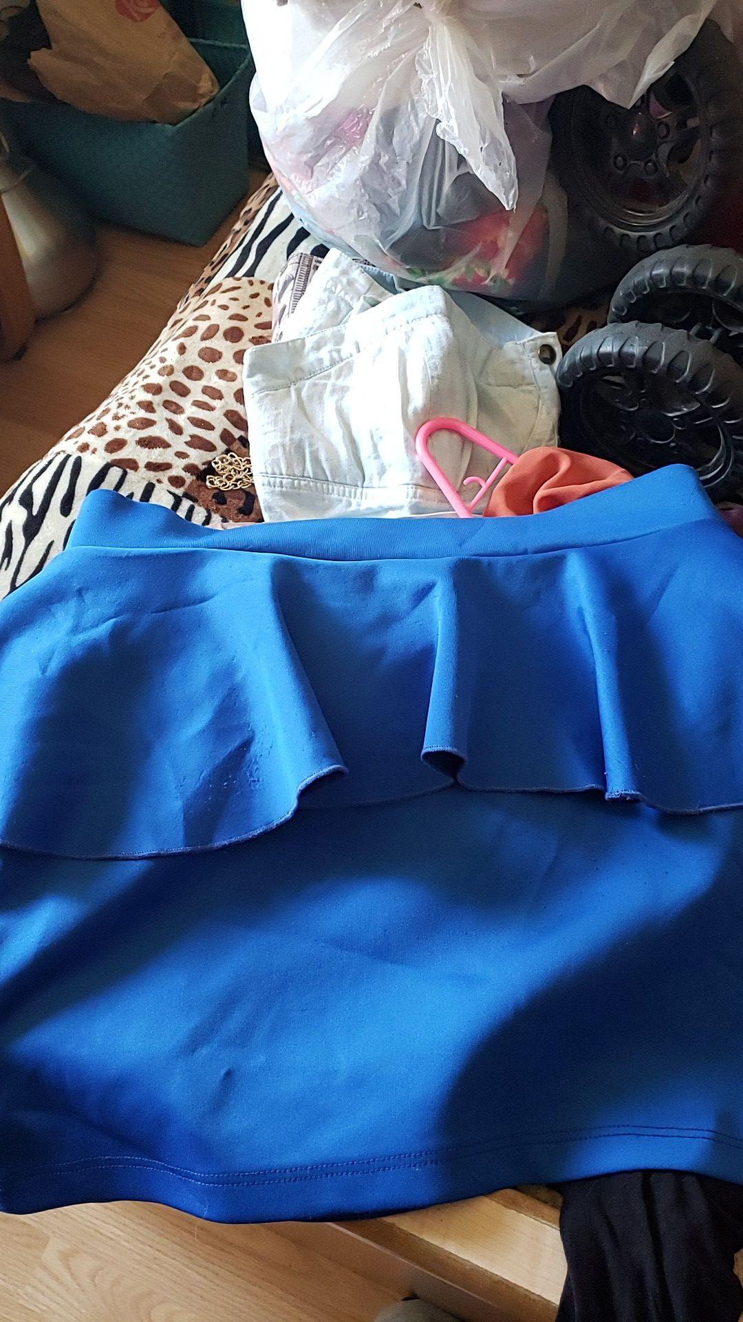 Shirt blue L